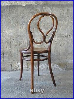 Chaise N°20 dite OMEGA bistrot assise bois décorée 1890 (No thonet)