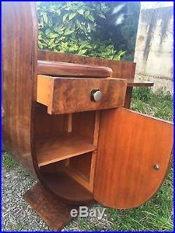Coiffeuse Art Deco Époque 1930 Bois Précieux Livraison Possible