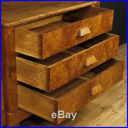 Commode art deco meuble commode français en bois 3 tiroirs 2 porte style ancien