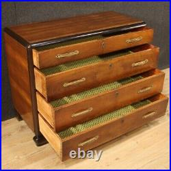 Commode style ancien Art Deco meuble chiffonier buffet en bois salon chambre