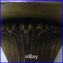 Console Art Déco / Console bois doré / Étagère Art Déco