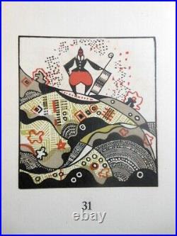 Edgar Poe Maret Diable Dans Beffroi Bois Grave Art Deco Gravure Illustre Moderne