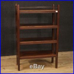 Etagere meuble vitrine bibliothèque Art Deco en bois vintage moderne 900
