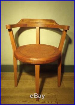 FAUTEUIL BOIS ART DéCO-DESIGN 1930-50