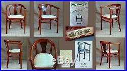 Fauteuil THONET A 967 années 20 salon bistrot bureau art déco bois courbé