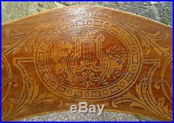 Fauteuil bistrot bois-courbé vers 1910 assise bois No Thonet