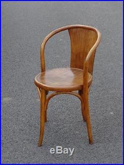 Fauteuil /chaise FISCHEL 15 E bistrot bois courbé 1925 (No Thonet)