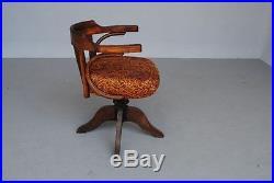 Fauteuil de bureau bois plié style Thonet vers 1900