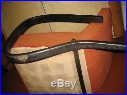 Fauteuils Halabala Jindrich bois courbé couleur noire d origine