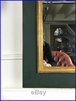 Glace / Miroir Des Annee 50 En Bois Peint De Style Empire De 94 CM De Haut