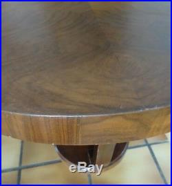 Gueridon Art Deco Table Bois Design Meuble
