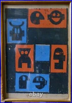 Günther Kraus (1930-1987), bois africaniste, février 1955