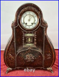 Horloge De Table. Gebruder Wilde. Calendrier Perpétuel. Allemagne. Vers 1900