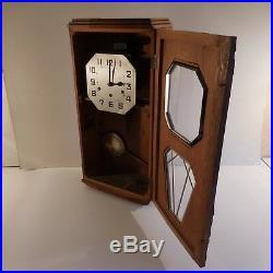Horloge carillon mural style ODO art nouveau déco 1920 1930 XXe France N2055
