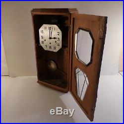 Horloge carillon mural style ODO art nouveau déco 1920 1930 XXe PN France N2055