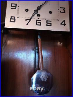 Horloge pendule carillon Westminster 10 marteaux 6 tiges 2 mélodies