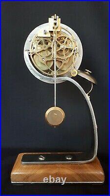 Horloge pendule de Paris contemporaine mouvement brocot orologio uhr clock