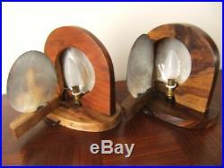 Lampes veilleusesr Art déco 1940/1950 Tahiti Design vintage coquillage No NOLL