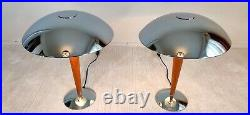 Magnifiques paire de grandes lampes PAQUEBOT en très bon état