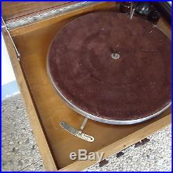 Meuble Radio Tourne Disques 78 Tours Multiohm Belle Fabrication 60 x 42,5x 38 Cm