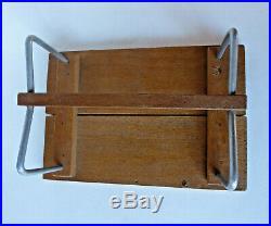 Meubles miniatures dinette poupée moderniste Art Déco dlg Bauhaus Thonet Design