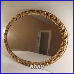 Miroir médaillon napoléon renaissance art nouveau fait main déco PN France N2272