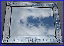 Miroir venise a bulles 83 x 66