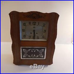 N2054 Horloge carillon mural FFR MORBIER art nouveau déco 1920 1940 XX PN France