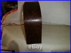 Pendule Bulle Et Clock Electromagnetique Kaminuhr Art Deco