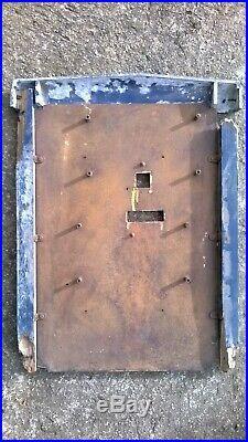 Plaque panneau indicateur postes PTT facteur signalisation art déco boite lettre
