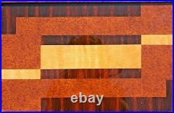 Plateau en bois époque Art déco 52x31 cm