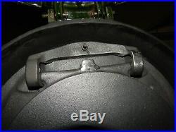 Poêle à bois Godin 3121 Comme neuf 10Kw Vert Majolique sortie 125mm Bûches 50cm