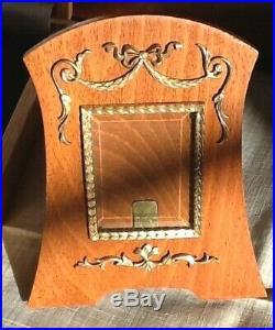 Porte Photo Cadre Russe Goût Fabergé Bois & Argent Russian Fabergé style Frame