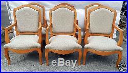 Prestigieuse paire de fauteuils art déco en bois clair par Jacques Méchali. L1