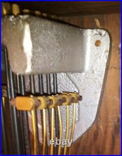 RARE carillon Vedette 10 tiges 10 marteaux REVISÉ
