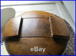 Rare Forme A Chapeaux Ancienne Modulable/tete A Chapeaux-art Populaire-deco