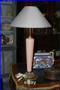 @ Rare Grande Lampe de salon MAZDA Art Déco @