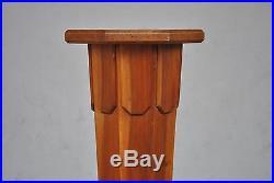 Sellette Art déco en bois forme fuselée 1930