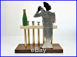 Sudre Porte piques Cocktail publicitaire Art-Déco