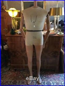 Superbe Mannequin marque SIEGEL années 30 incomplet entièrement articulé signé