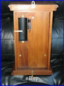 Superbe pendule BULLE CLOCK bois sculpté, electric clock (no Ato, Brillié)
