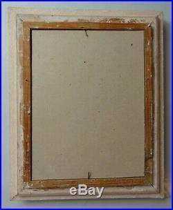 TABLEAU représentant une fillette cadre en bois peinture à l'huile