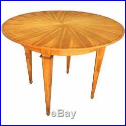 Table En Bois Clair Epoque Art Deco Dans Le Style De André Arbus Circa 1940