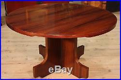 Table à manger salon meuble design bois palissandre style ancien 900 décoration