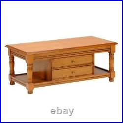 Table basse bar / Chêne/ 120x60x47 cm