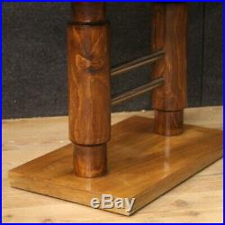 Table basse de salon moderne ancienne design Art Deco meuble en bois 900