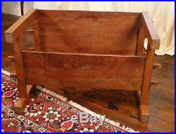 Table basse en bois exotique Art Déco 1930 20e
