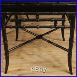Table basse table salon meubles français style ancien bois laqué chinoiserie 900