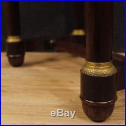 Table de travail meuble salon français bois style ancien Empire 900