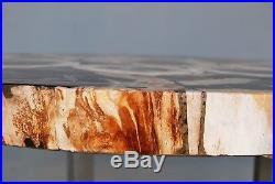 Table en bois petrifié. 25 millions d'années